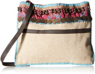 Ale By Alessandra Women's Calista Beaded and Embellished Tribal Bag