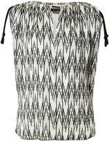 Isabel Marant sleeveless chevron print top