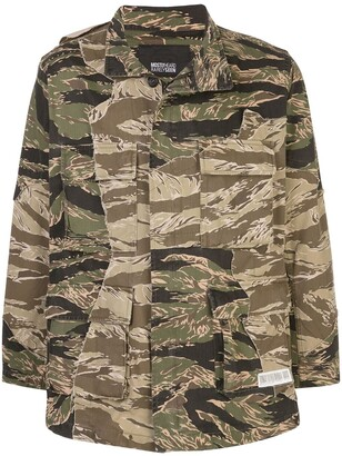 Mostly Heard Rarely Seen Cut Me Up combat jacket