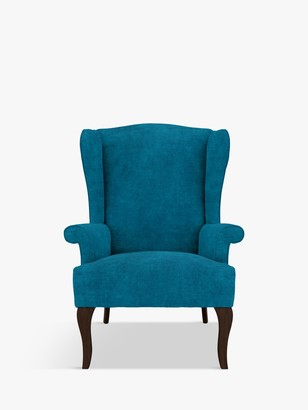 John Lewis & Partners Shaftesbury Armchair, Dark Leg, Victoria Teal