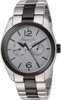 Kenneth Cole New York KC9365 Men's Stainless Steel Two-Tone Bracelet Band Dial Watch