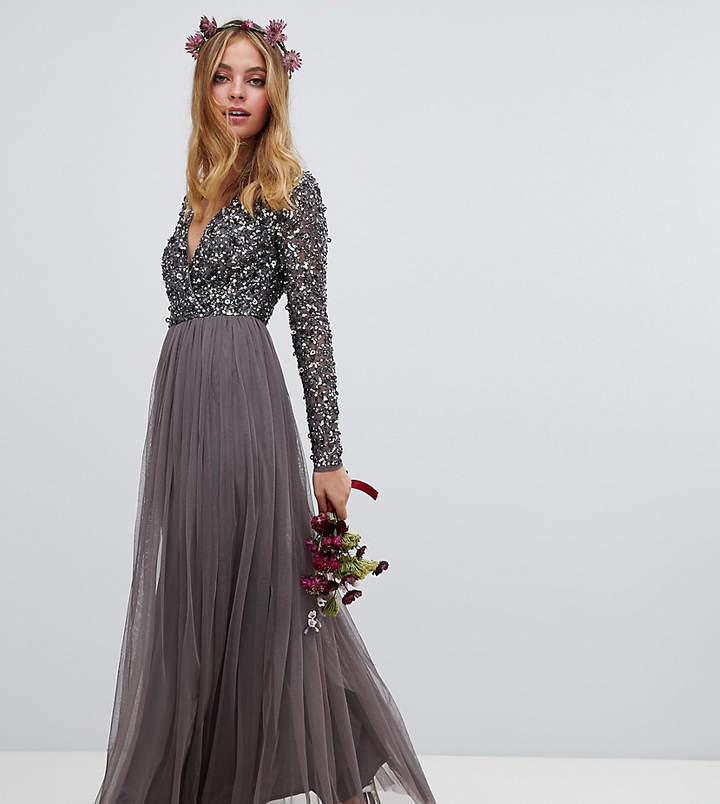 238480666a5 Petite Maxi Dresses Sleeves - ShopStyle