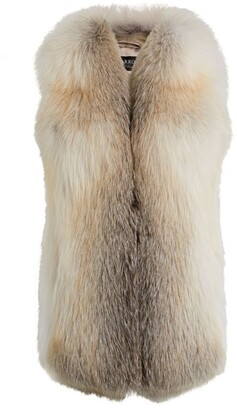 Harrods Fox Fur Gilet