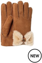 UGG Sheepskin Bow Gloves