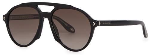 Givenchy GV 7076 Aviator-style Sunglasses