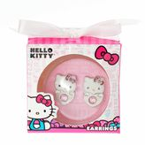 Hello Kitty Girls Stud Earrings