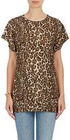 Helmut Lang Women's Leopard-Print T-Shirt-GOLD