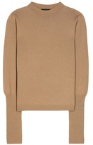 The Row Deanna Wool And Cashmere Knitted Sweater