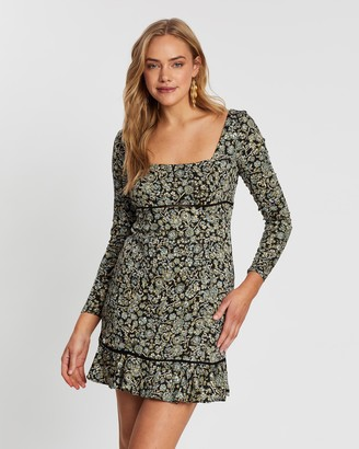 Free People Boheme Mini Dress