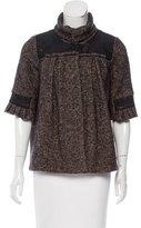 Mayle Wool-Blend Tweed Jacket