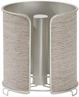 InterDesign RealWood Paper Towel Holder for Kitchen Countertops - Satin/Gray Wood Finish