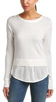 French Connection Women's Blixen Pointelle Sweater