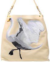 Giancarlo Petriglia Swan Leather Tote Bag