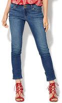 New York & Co. Soho Jeans - Trouser-Hem Boyfriend - Blue Moon Wash