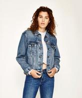 Levi's Ex Boyfriend Trucker Dream Of Life Denim