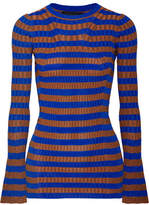 women cobalt blue sweater - ShopStyle