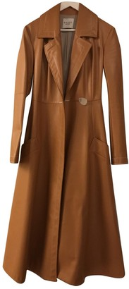 Awake Camel Polyester Coats