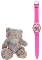 Me To You Girl's Quartz Watch with Multicolour Dial Analogue Display and Plastic or PU Strap MTY25P