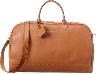 Longchamp Le Foulonne Large Leather Duffel Bag