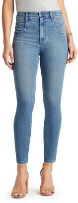Sam Edelman The Extreme High Waist Stiletto Ankle Skinny Jeans