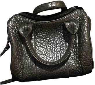Alexander Wang Rockie Silver Leather Handbags
