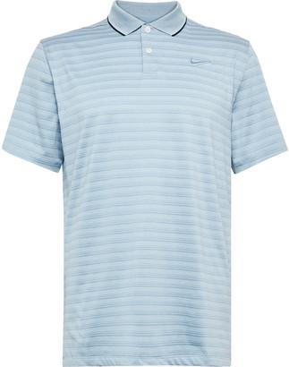 Nike Vapor Striped Dri-Fit Polo Shirt