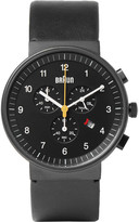 Braun - Bn0035 Stainless Steel And Leather Watch
