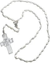 Waterford Crystal Celtic Rosary Beads [Kitchen]
