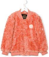 Mini Rodini faux fur bomber jacket