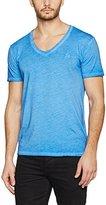 Otto Kern Men's V-Neck, Gewaschen, Uni, Regular Fit, 35310 / 43324 T-Shirt,XL