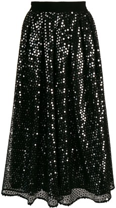 MSGM Sequin Skirt