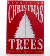 Southern Living Nostalgic Noel Collection Tree Farm Sign