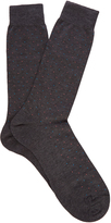 Pantherella Regent pin-dot cotton cotton-blend socks