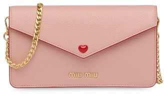 Miu Miu Love envelope mini-bag