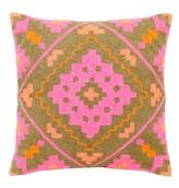 Mela Artisans Intensity In Pink Decorative Pillow