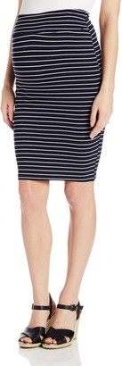 Ripe Maternity Women's Maternity Mia Stripe Tube Skirt