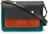 Marni small Trunk shoulder bag - women - Leather/Suede - One Size