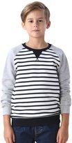 Leo&Lily Boys' Yarns Dyed Stripe Hoodie Fleece Sweatshirts Top