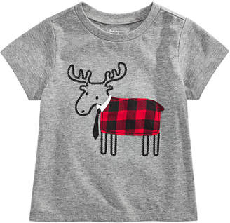 First Impressions Toddler Boys Elk Tie T-Shirt