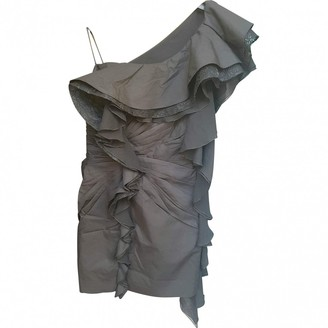 DANIELE CARLOTTA Black Cotton Dress for Women