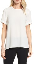 Vince Camuto Women's Textured Georgette High/low Blouse