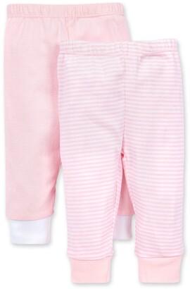 Burt's Bees Organic Baby Basics Footless Pants 2 Pack