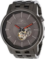 Rip Curl Men's A2537-GUN Analog Gunmetal Plated Watch
