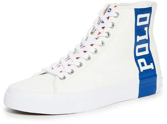 Polo Ralph Lauren Chariots of Fire Solomon II High Top Sneakers