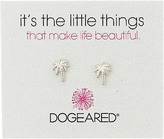 Dogeared Little Things Palm Tree Stud Earrings