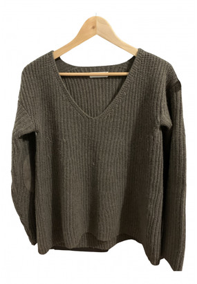 Roberto Collina Khaki Cashmere Knitwear