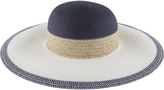 Accessorize Brigitte Nautical Floppy Hat