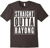 Women's Straight Outta Rayong Funny T-Shirt Large