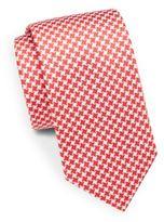 Bugatchi Gingham Silk Tie