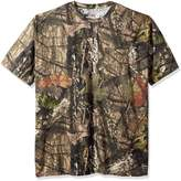 Berne Men's Big and Tall Shortshot Camouflage Pocket Tee Shirt